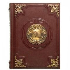 Сабанеев. Книга охотника (с бронзовыми накладками, в подарочном футляре)