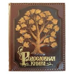 книга Стандартная с росписью в оплетке
