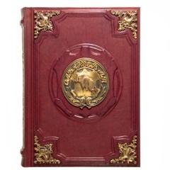 Сабанеев. Книга охотника (с бронзовыми накладками)